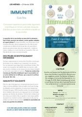 eula bliss immunite cp