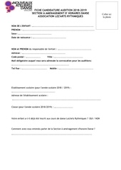 Fichier PDF fiche de candidature a l audition