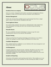 job candidates software