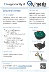 job opportunity software engineer