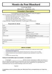 formulaire d inscription 2018