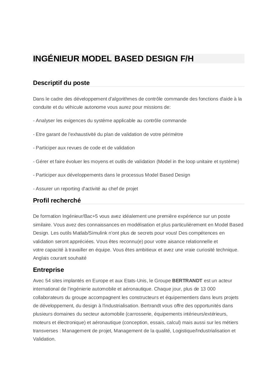 ing u00c9nieur model based design fh par emmanuel bachelier