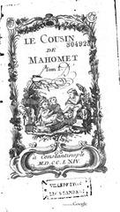 le cousin de mahomet tome 1