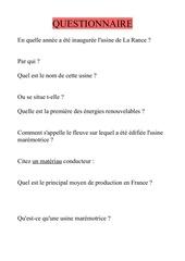 Fichier PDF questionnaire