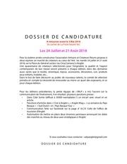 dossiercandidaturevalp2018