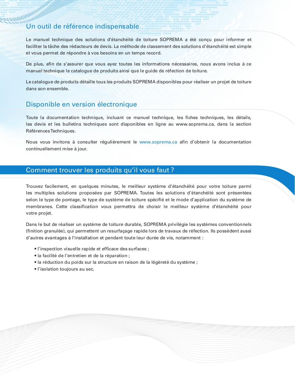 documentation technique SOPREMA.pdf - page 2/285