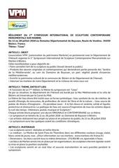 francais reglement symposion domaine de bayssan