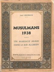leon lehoraux un mariage arabe dans le sud algerien