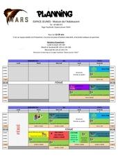 planning mars 18