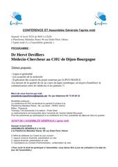 programme dr devillier