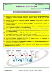 questions strategie chap 2 2018 1