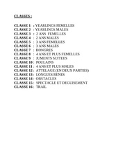 classes saillenard 2018