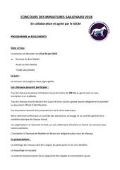 Fichier PDF reglement et programme 2018