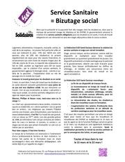 service sanitaire bizutage social