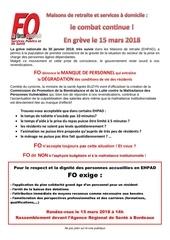 tract greve et manifestation le 15 mars 2018