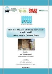 pdg study eco cooler anglais ong jve benin
