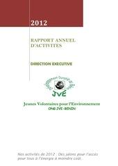 Fichier PDF rapport annuel 2012 ong jve benin