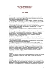 declaration universelle droitshomme 1948pdf