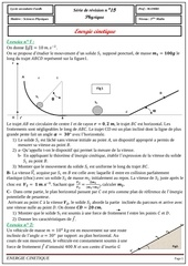 Fichier PDF serie 15 energie cinetique