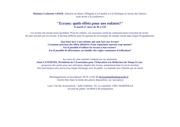 Fichier PDF invitation conference ecrans