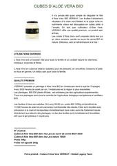 Fichier PDF cubes d aloe vera