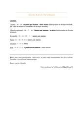 devoir n 1 arithmancie