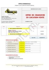 offre loader 950
