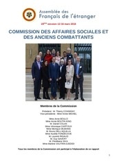 rapport commission