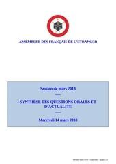 synthese qo et qa mars 2018