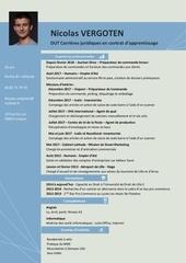 Fichier PDF cv dut carrieres juridiques en contrat d apprentissage