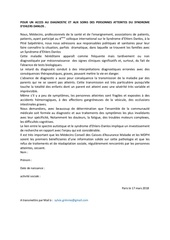 Fichier PDF petition diag