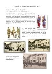 1914 1918 foret de mormal 2