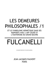 Fichier PDF fulcanelli les demeures philosophales 1