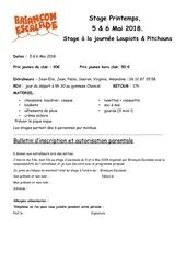 Fichier PDF stage loupiots pitchouns printemps