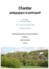 chantier pedagogique montegnet informations