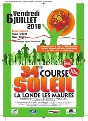flyer a5 course du soleil 2018
