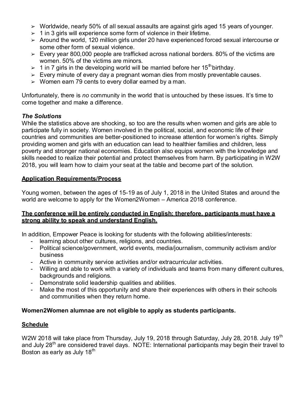 W2W_2018_Student_Application-Boston.pdf - page 2/14