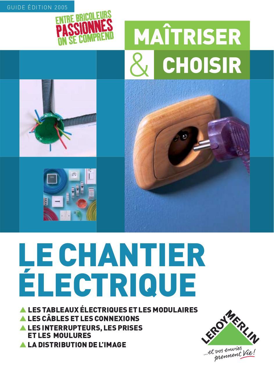 Chantelec Extract Par Datek Guide Complet Electricite Pdf