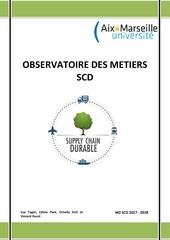 observatoire des metiers scd