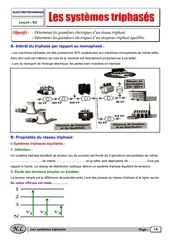 les systemes triphases