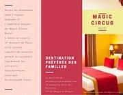 magic circus brochure