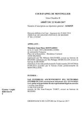 Fichier PDF decision