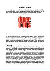 Fichier PDF le diner de cons