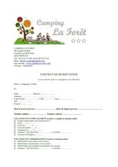 Fichier PDF contrat francais location camping la foret 2018