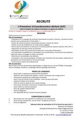 Fichier PDF appel a candidatures coordonnateur tri preventeur dechets