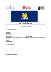 Fichier PDF application form 28 times cinema 2018