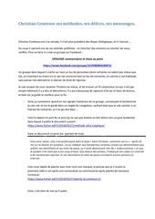 Fichier PDF christian comtesse ses methodes