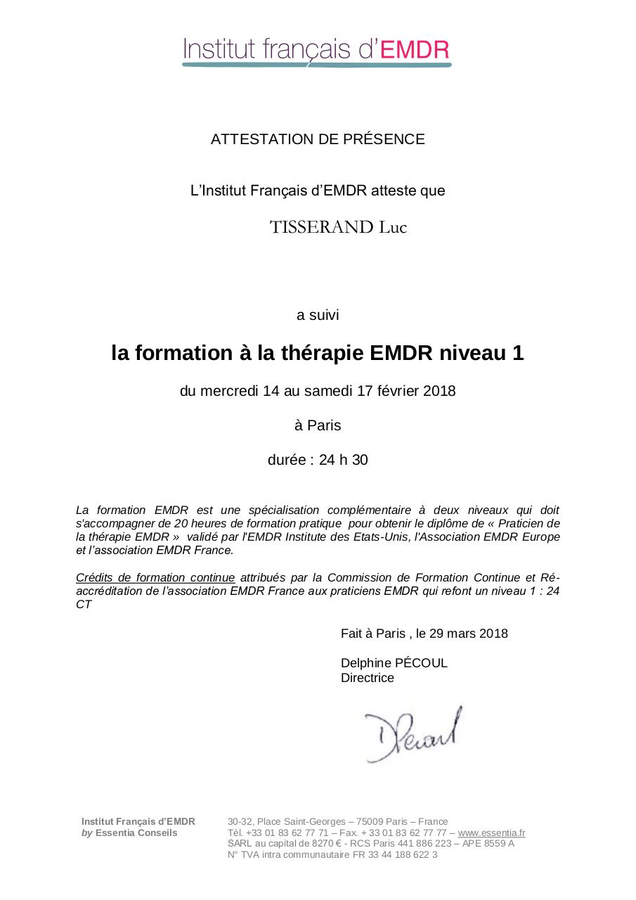 Aperçu du document attestation TISSERAND.pdf - page 1/1