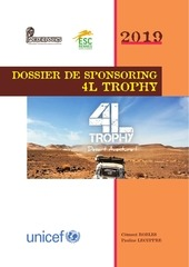 dossier de sponsoring 4l trophy 2019