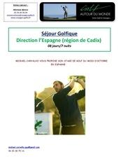 descriptif hotel iberostar royal andalus et golfs espagne